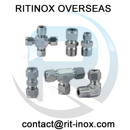 Stainless Steel 316TI Union Cross Tube Fittings -