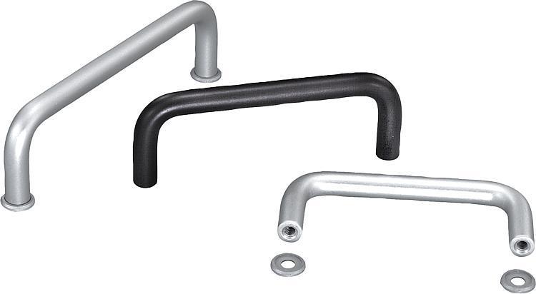 Pull Handles aluminum - K0201