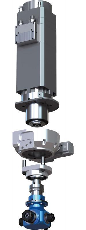 Motorspindeln luftgekühlt - BENZ Maschinentechnik - Motorspindeln luftgekühlt