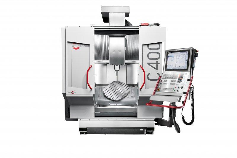 Machining centre C 400 - Powerful, precise and dynamic - it reliably meets the demands of the market