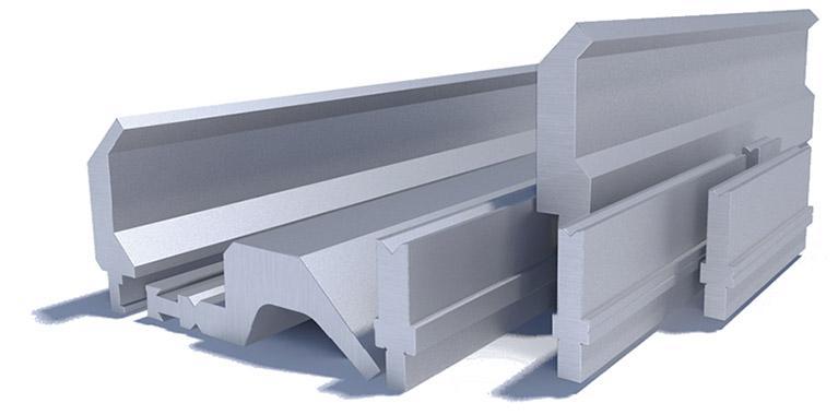 Bending tools for press brake Beyeler system