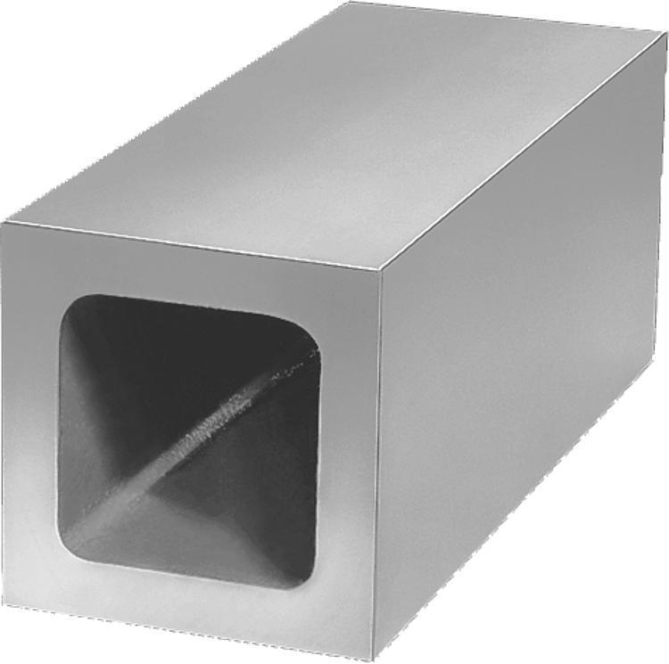 Profil creux carré Fonte grise - Profilés