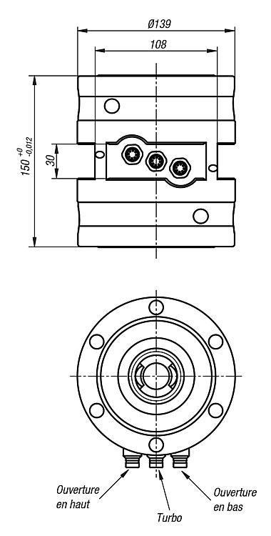 Module de serrage double UNI lock - UNI lock