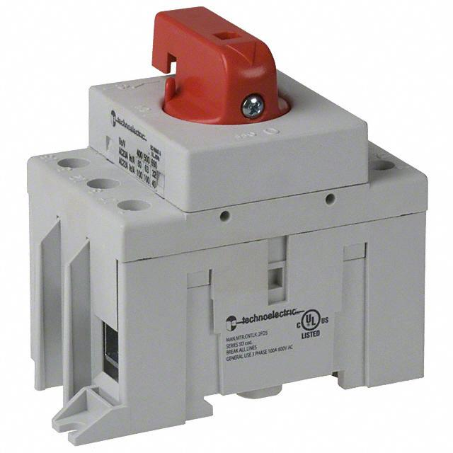 SWITCH DISCONNECT 63A 600V RED - American Electrical Inc. 19215-11