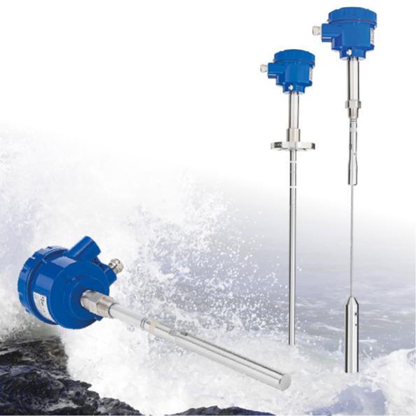 Interruptor de nivel capacitivo RFnivo® RF8000 - Detector de nivel lleno, vacío o intermedio