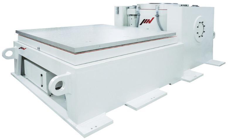 Schwingprüfsystem der Baureihe K, 30 bis 350 kN - Elektrodynamisches, wassergekühltes Schwingprüfsystem mit ECO-Technologie