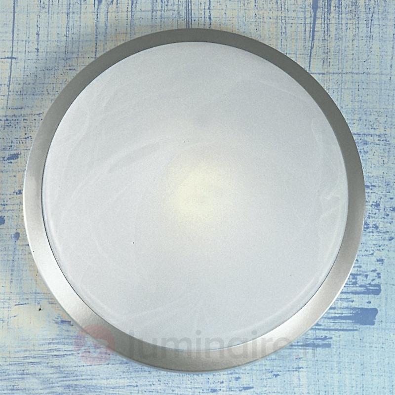 Joli plafonnier Corella - Plafonniers chromés/nickel/inox