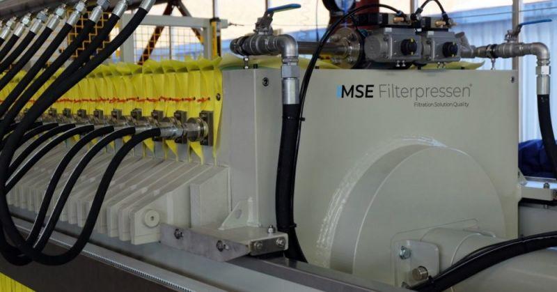 Filtre presse á membranes - Le filtre presse à membrane - un drainage optimal grâce à la technologie membran