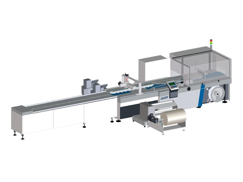 paper X hybrid film and paper packaging machine - Our paper X hybrid machines are designed for packaging goods in paper or film.