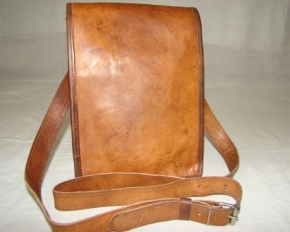 Leather Sling Bag - Leather Sling Messenger, Day Bag