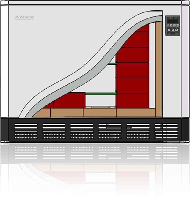 Calentador de almacenamiento dinámico Anze -