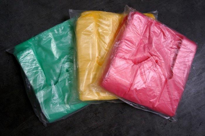 T-shirt HDPE- High density polyethylene - null