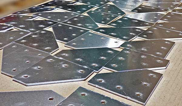 Cięcie blach laserem do 4000 x 2000 mm, grubość 25 mm -