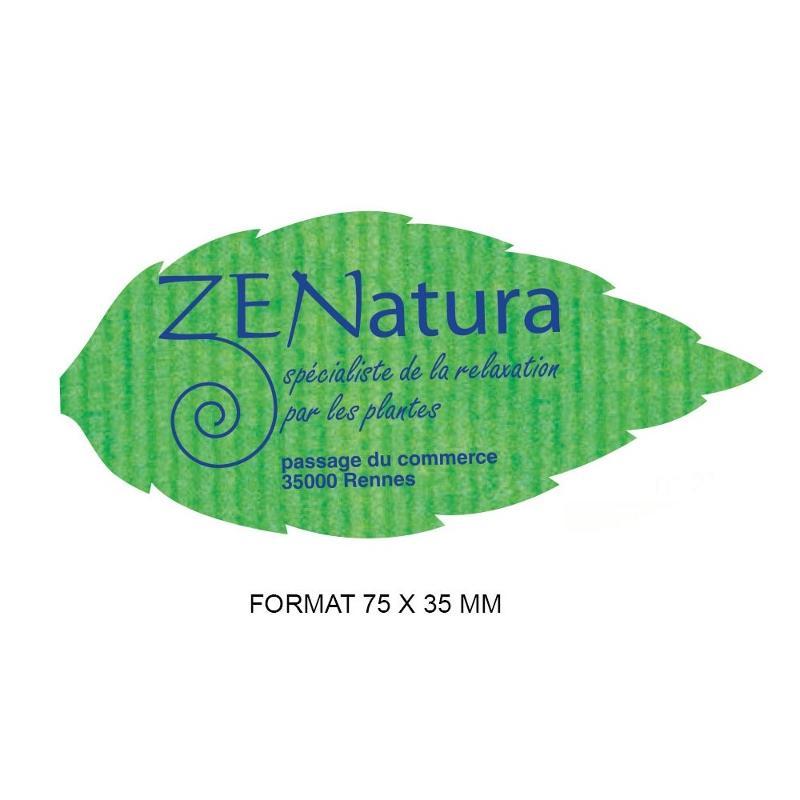 Étiquettes nature - Etiquette autocollante pour boutique