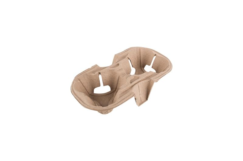 Cup carrier - Biodegradable cup carrier for 2 or 4 cups
