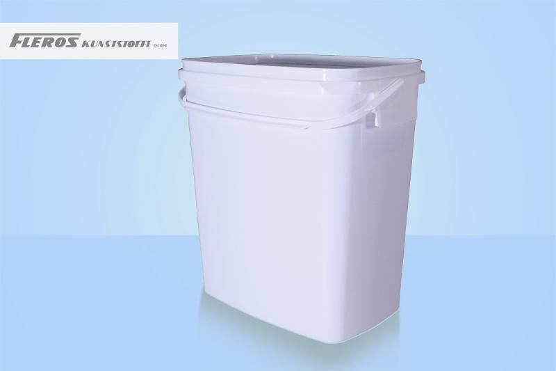 Rectangular buckets - FK-E 11.000 bucket, rectangular, PP