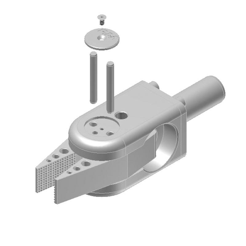 Serie 140 - Kraftgreifzangen, Klemmdurchmesser 20 mm - null
