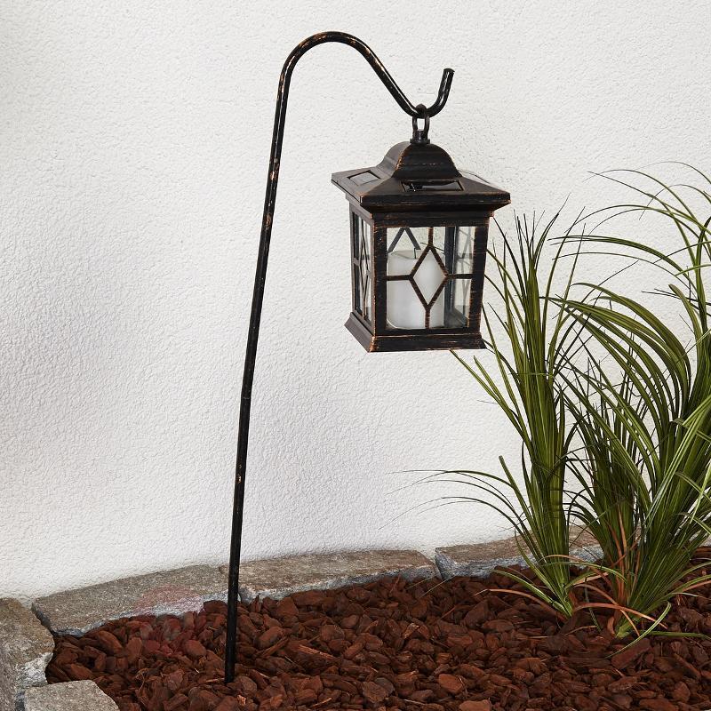 Lanterne solaire LED décorative Beata en set - Lampes solaires décoratives