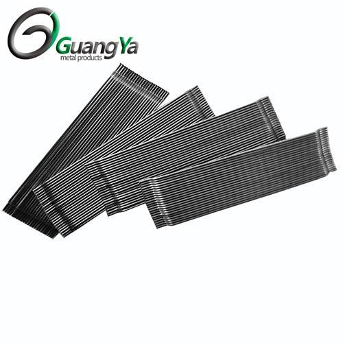 Extremo enganchado de fibra de acero encolado - Añadir para mejorar el rendimiento del hormigón.