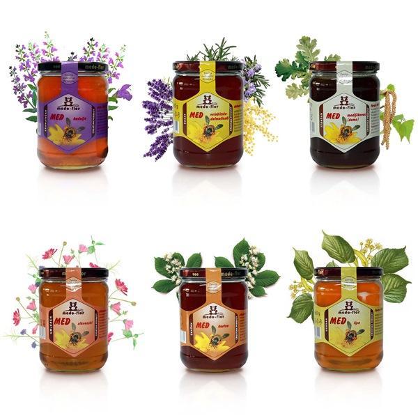 Honey - different types og honey