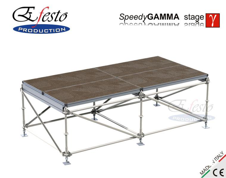 Speedy Gamma stage