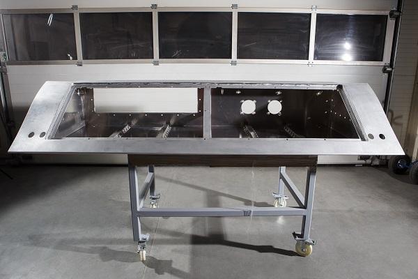 Aluminiumrahmen - Schweißkonstruktionen für Eisenbahnsektor