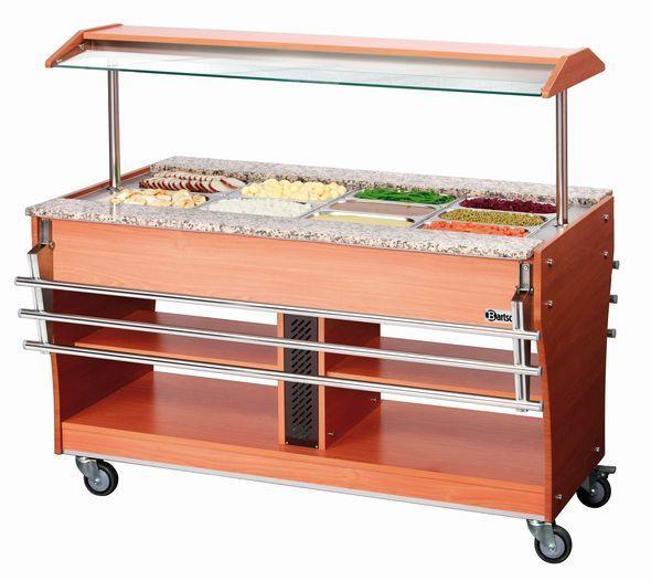 Buffetwagen kalt, 6 x 1/1GN, T150 - null
