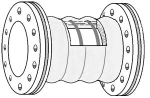 High-vacuum dredging hose - Sand and gravel