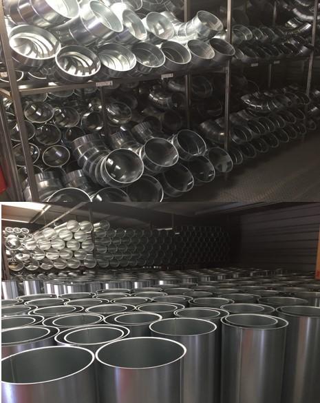 Tuyauteries et composants, réseaux d'aspiration - tuyaux en acier inoxidable pour réséaux d'aspiration