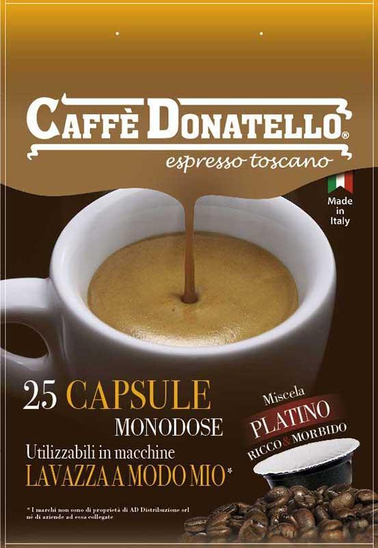 Capsule di caffè compatibili PLATINO Ricco & Morbido