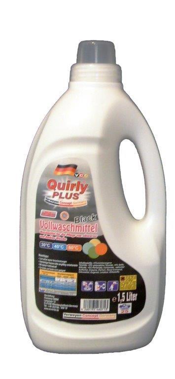 Quirly Black Waschmittel 1,5 L - Reinigung - Pflege