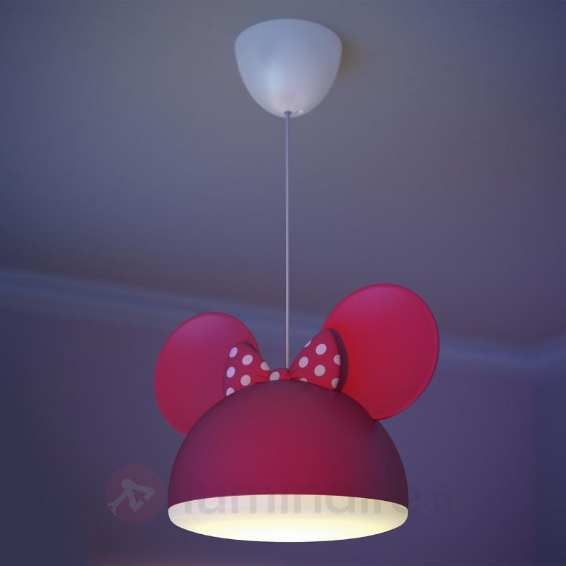 Suspension rouge Minnie avec oreilles - Chambre d'enfant
