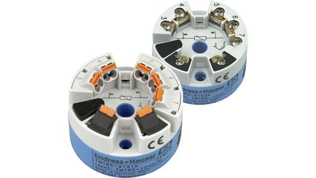 iTEMP TMT85 Transmisor de temperatura para cabezal -