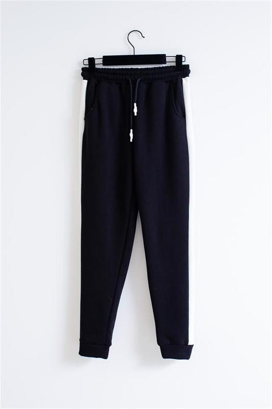 Three Spinning Women Black Topped Tracksuit Team - Woman!s Suit