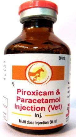 Veterinary Piroxicam and Paracetamol Injection - Veterinary Piroxicam and Paracetamol Injection