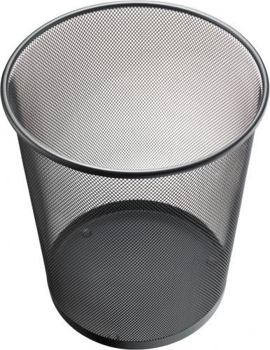 Mesh Papierkorb, schwarz, 15L - Z00331001