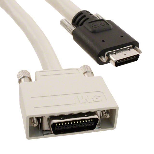 CABLE ASSY SDR PLUG-SDR PLUG 5M - 3M 1SF26-L120-00C-500