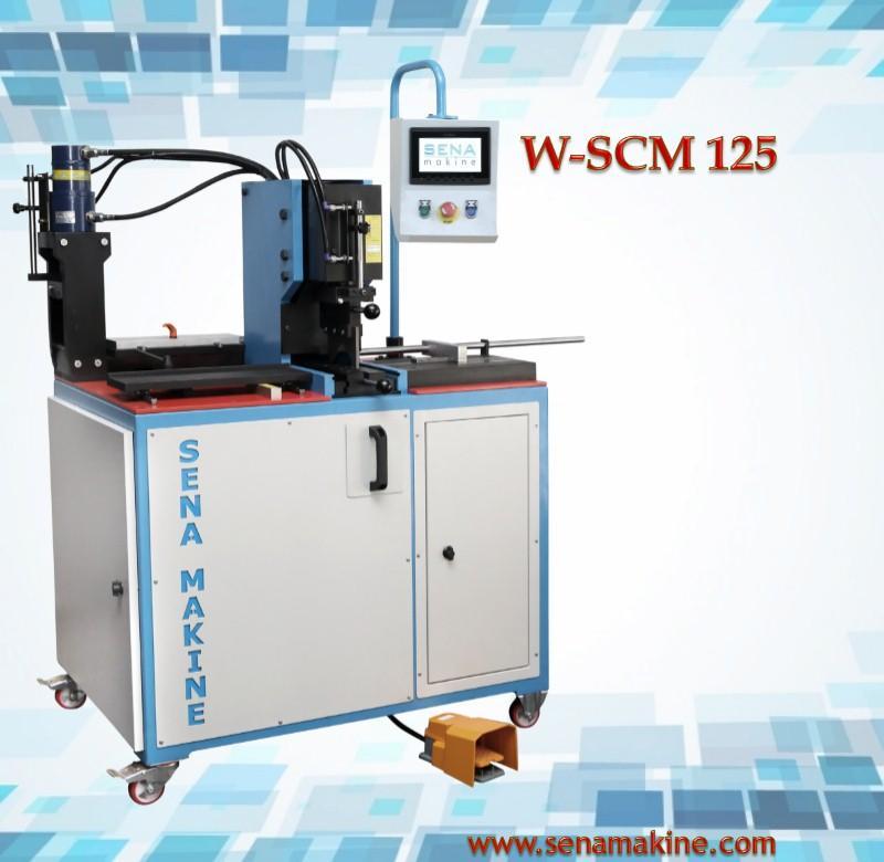 Copper Busbar Bending Punching Cutting Machine w - scm 125