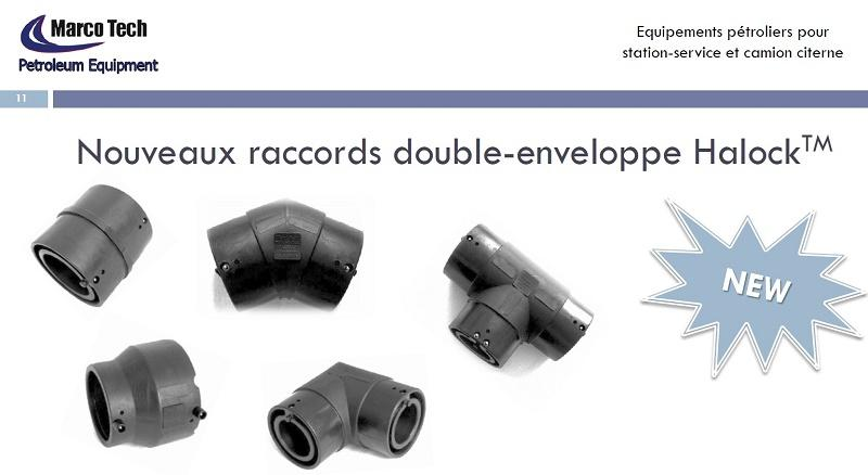 RACCORDS TWIN HALOCK PIPING SYSTEM
