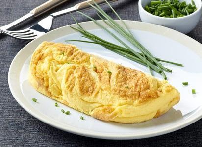 """L'omelette gastronome surgelée - Omelette moelleuse à l'aspect """"fait maison"""""""