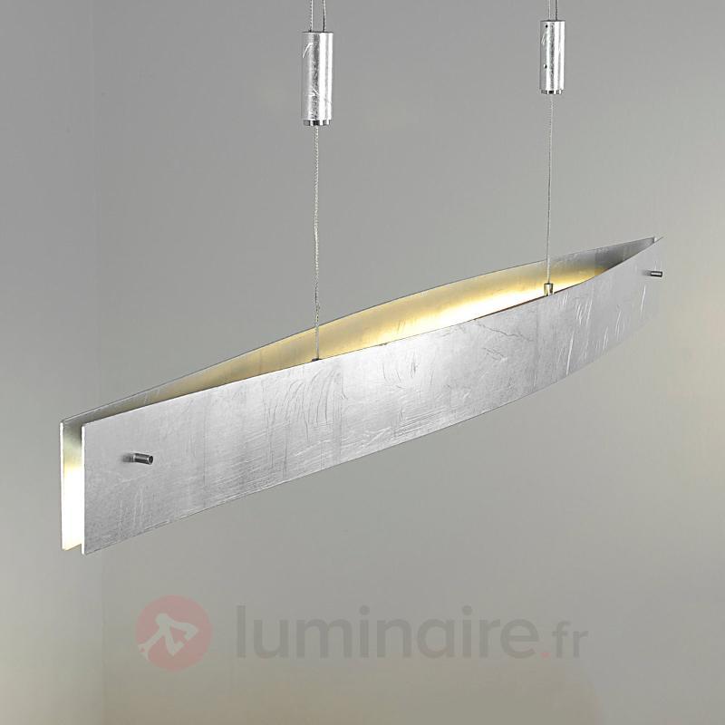 Suspension LED Malu argent antique 100 cm - Suspensions LED