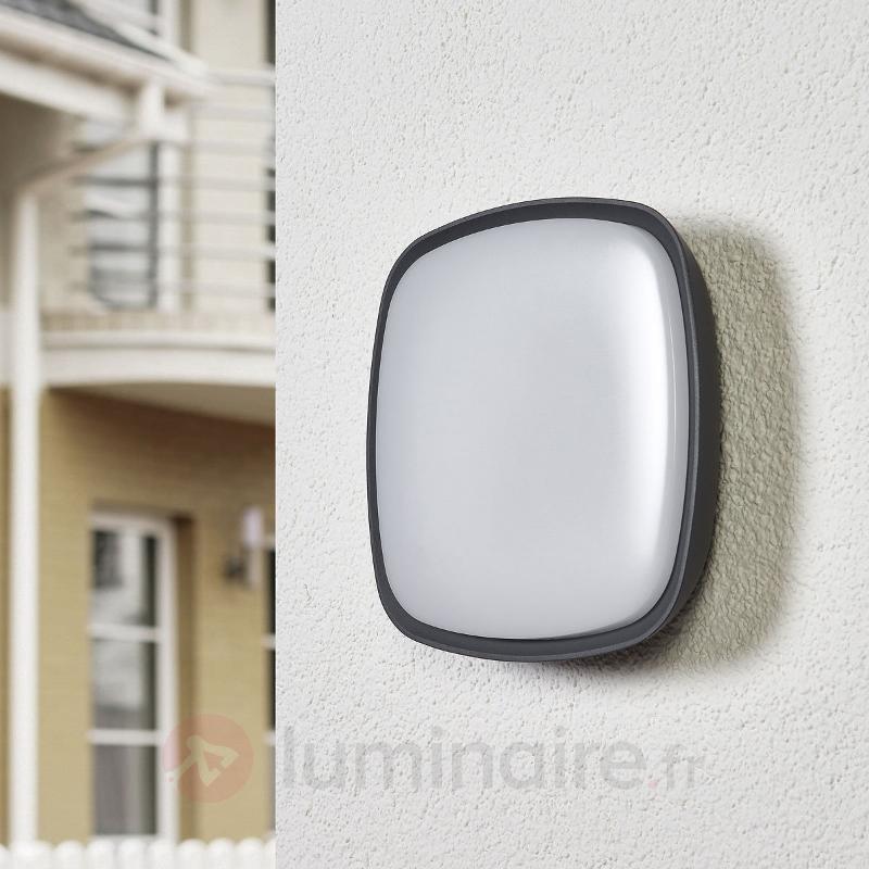 Applique d'extérieur en alu Cailan avec LED - IP65 - Appliques d'extérieur LED