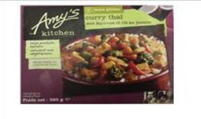 Curry thai légumes - Plats cuisinés biologiques et surgelés