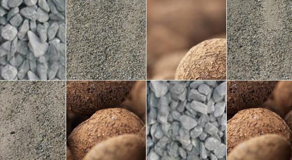 Marchandise en vrac - Sable de rhin, sable de maçon, gravier tous calibres