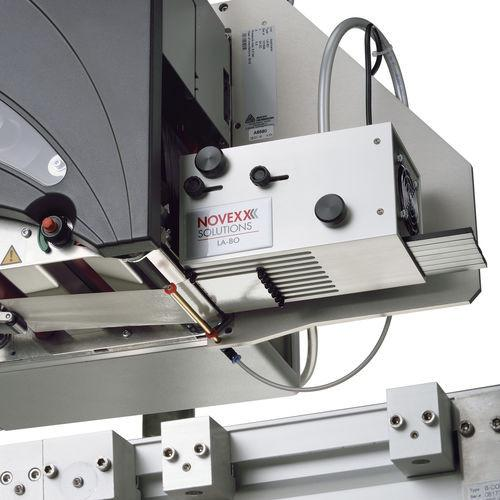 Applicator LA-BO - applicator for automatic labeler / blow-on / non-contact / sensitive products