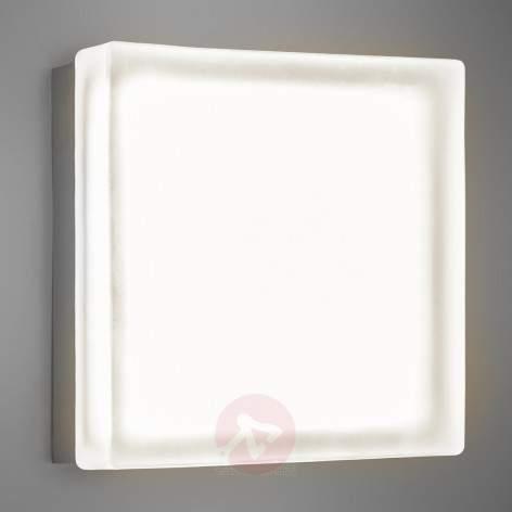 Briq 02L modern LED wall light warm white - indoor-lighting