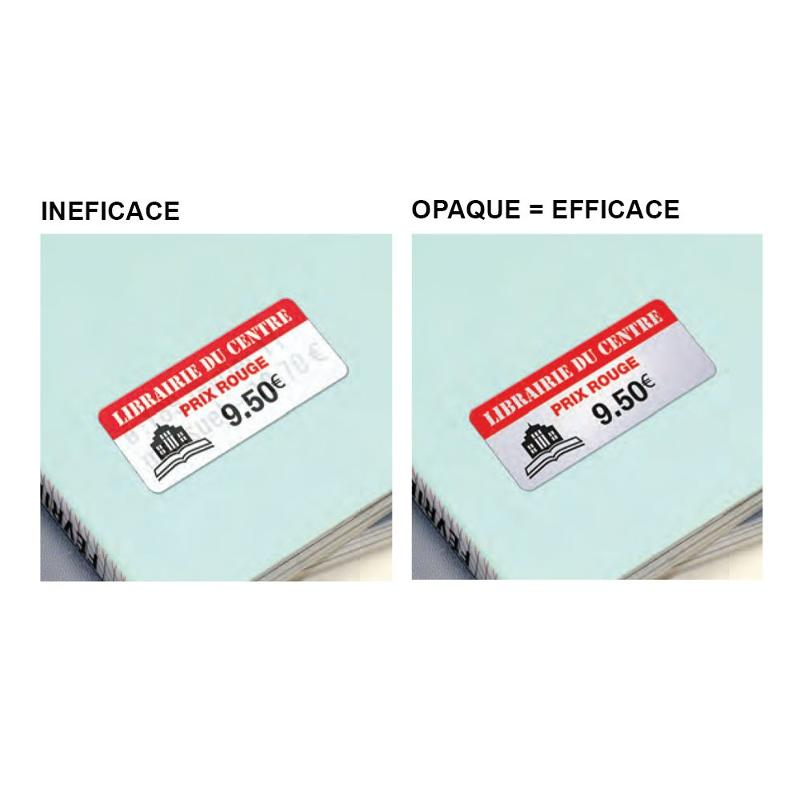 Étiquettes rectificatives - Étiquettes spéciales