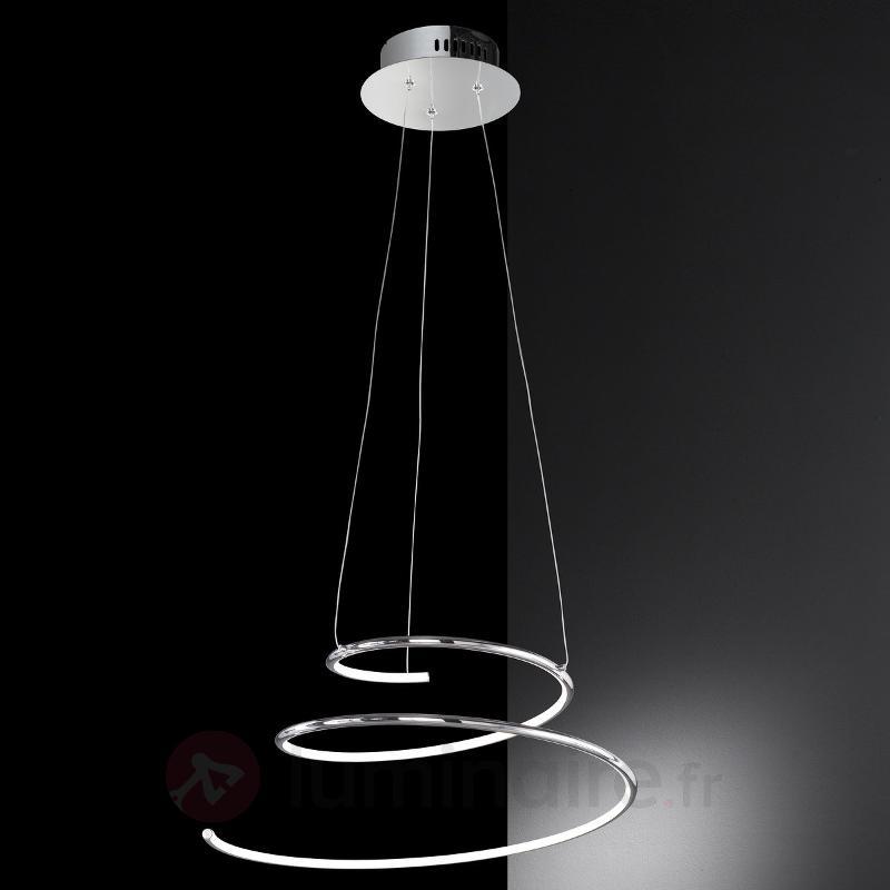 Suspension LED en forme de spirale Visio - Suspensions LED