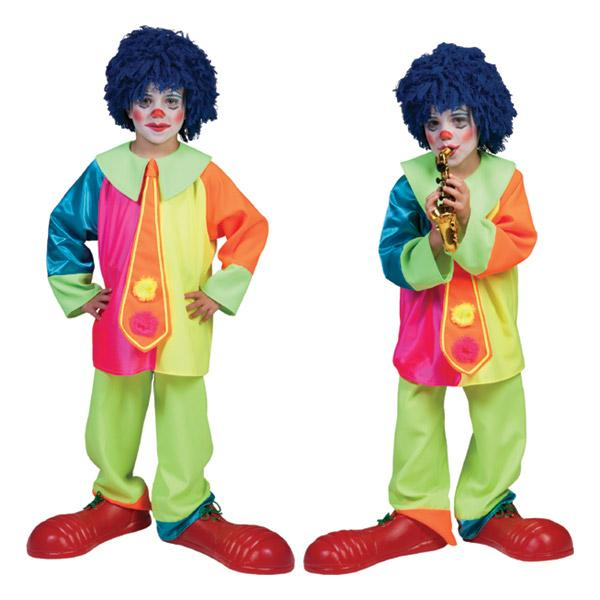 Costume enfant de clown - null