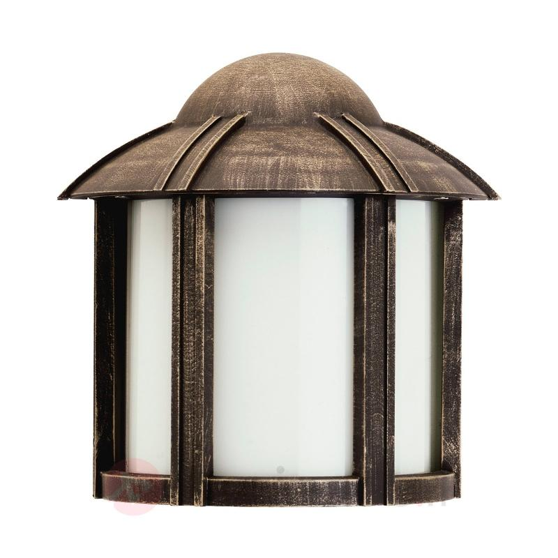 Applique d'extérieur Affra style rustique - Appliques d'extérieur cuivre/laiton